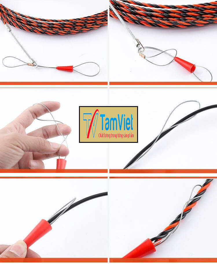 Tính Năng dây mồi luồn điện 3 lõi xoắn