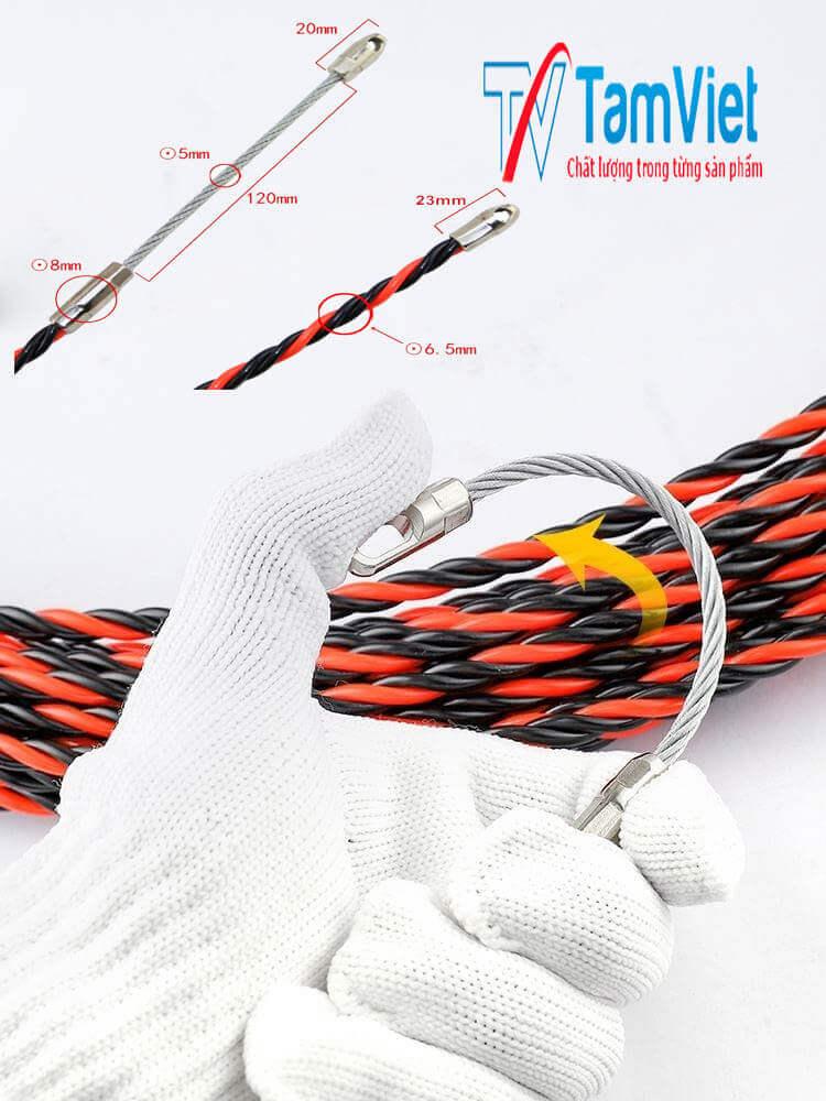 dây mồi, dây mồi điện, dây mồi luồn dây điện, máyluồn dây điện, dây mồi luồn điện, dây mồi luồn ống điện, giádây mồi luồn điệnhàn quốc, dây mồi kéo cáp ngầm, dâymồi luồnkéo cápđiệnngầm, dây mồi 15m,